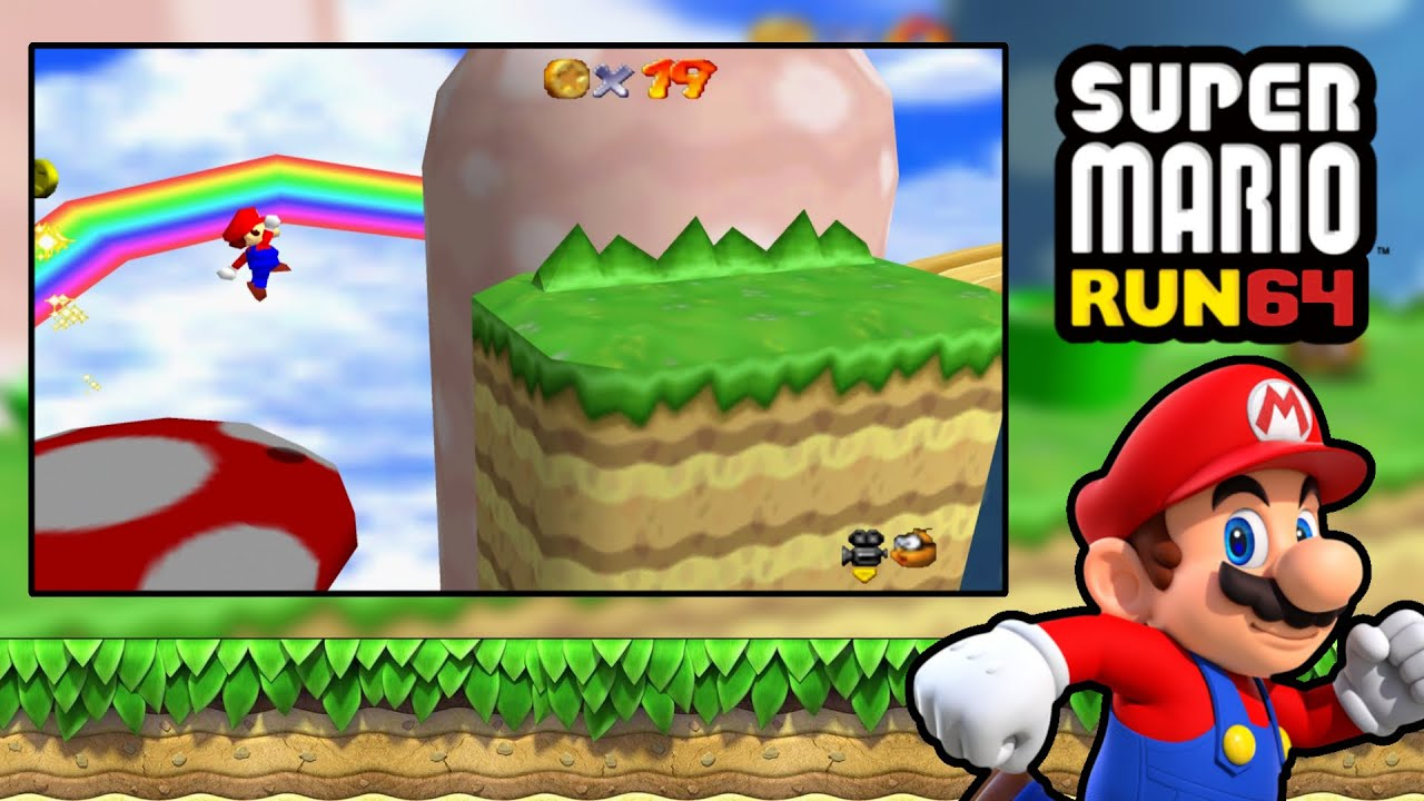 Super Mario 64 Portal Rom Hack Download