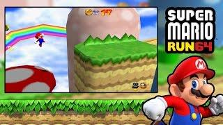 Super Mario Run 64 - Super Mario 64 Rom Hack