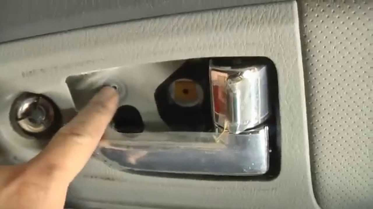 2009 kia spectra door handle replacement youtube. Black Bedroom Furniture Sets. Home Design Ideas