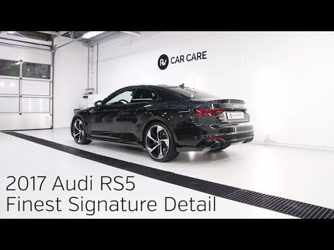 High End Detailing 2017 Audi RS5 Finest New Car Detail