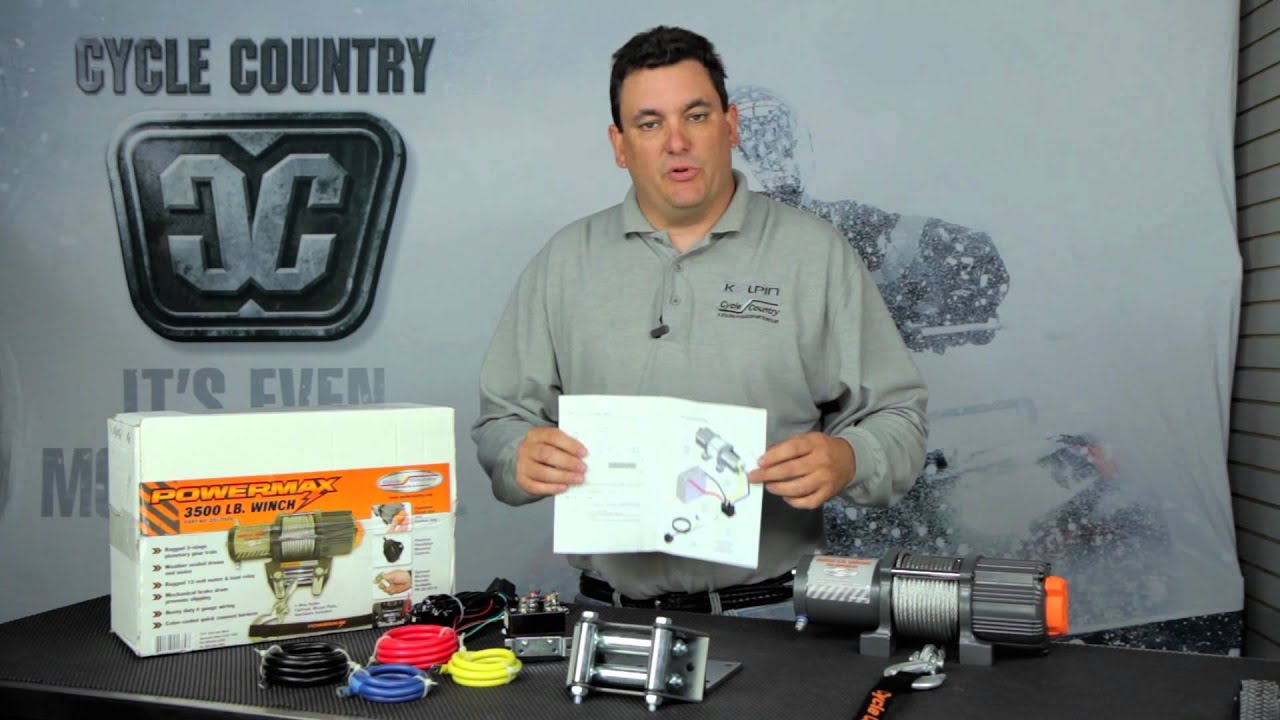 Cycle Country 2500 lb  Winch
