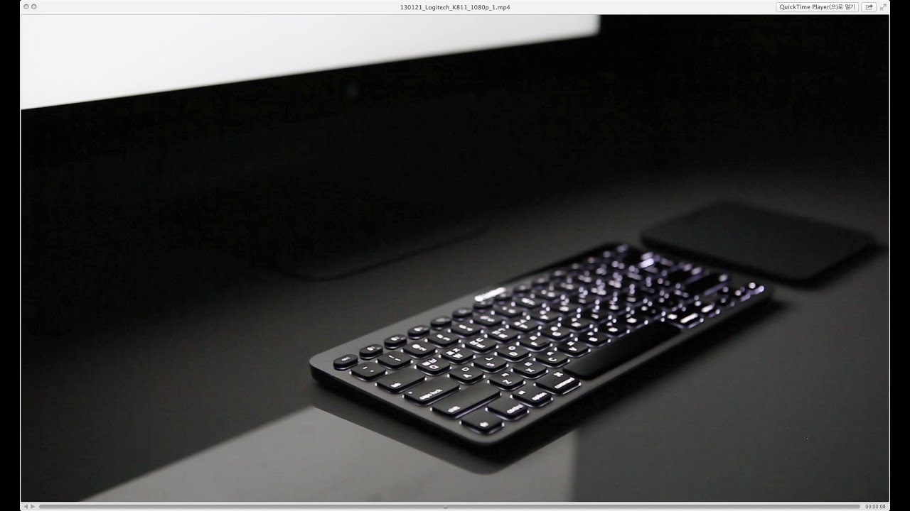 a568f598711 Logitech K811 Bluetooth Easy-Switch Keyboard - YouTube