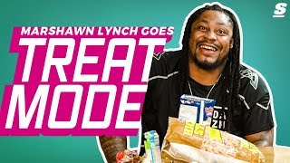 Marshawn Lynch Goes Treat Mode