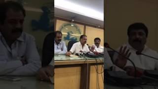 KFCC Emergency Pressmeet regarding Rs 200 Ticket Rates in Karnataka