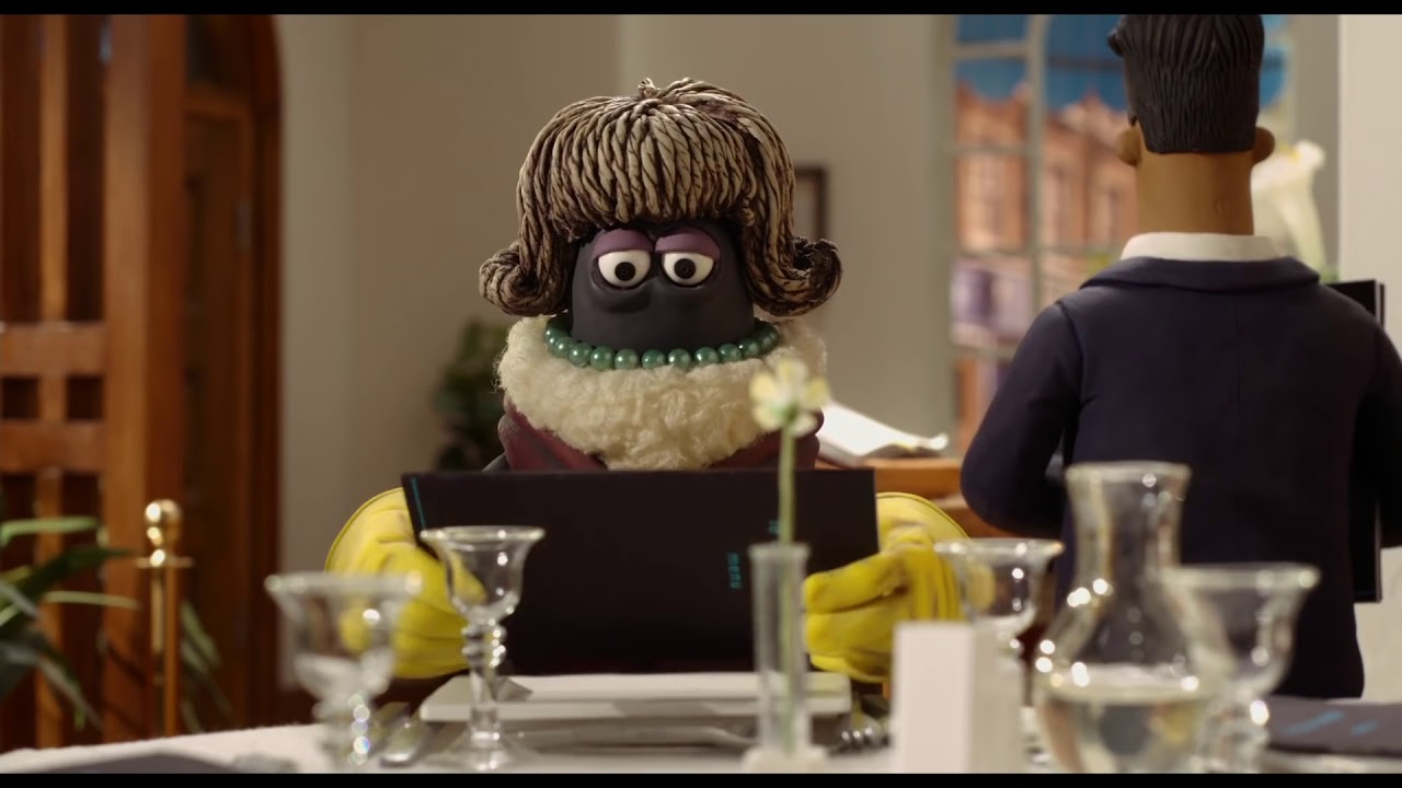 Shaun the Sheep The Movie - 'Restaurant' - Clip