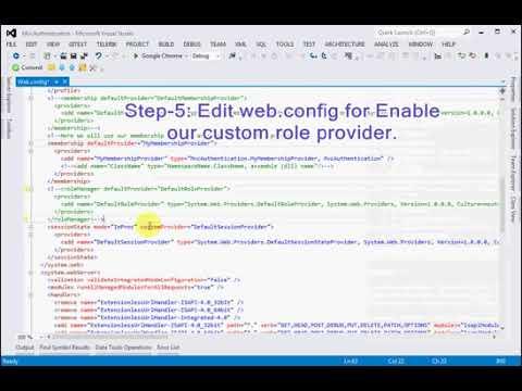 custom role provider asp net mvc 4