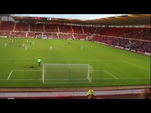 Hastings United V Middlesbrough - Goal Saving Razor Tackle