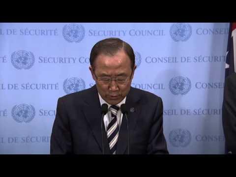U.N. Secretary General: Sarin Gas Used in Syria