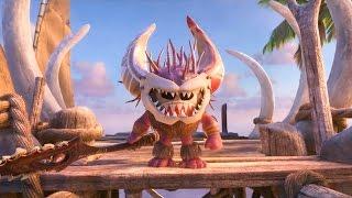 Moana - Meet The Kakamora | official FIRST LOOK clip (2016) Dwayne Johnson