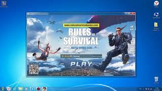 Как сделать полноэкранный режим в игре rules of survival Ответ FIX