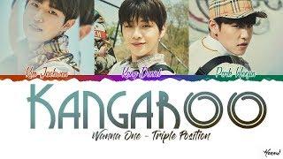 Wanna One (워너원) - 'Kangaroo (캥거루)' Lyrics (Color Coded Han_Rom_Eng CC)