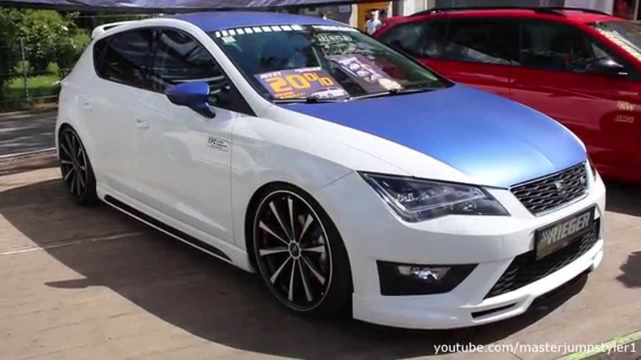 seat leon fr by rieger youtube. Black Bedroom Furniture Sets. Home Design Ideas