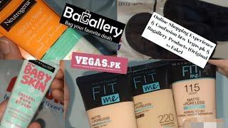 Online Shopping From Bagallery, Vegas.Pk & Daraz.Pk || Eid Off Deals