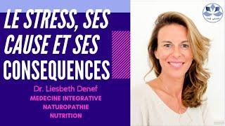 STRESS : CAUSES ET CONSÉQUENCES - Dr. Denef - Santé optimale