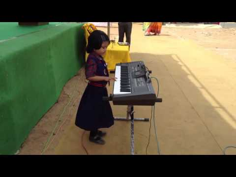 Indian National Anthem - Jana Gana Mana on Piano by a Very Cute little Girl 26 Jan 2017 Republic Day