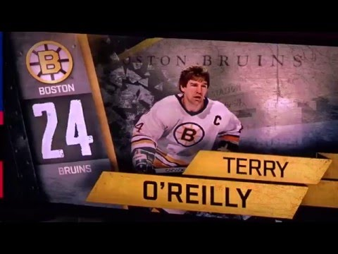 Introduction of Boston Bruins Alumni Roster - 2016 NHL Winter Classic Alumni Game