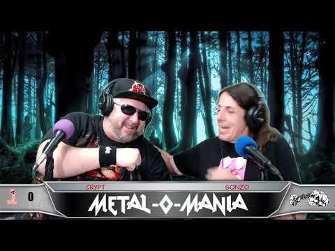 #122 Metal O Mania  - Talking to Chris Martin of SHRAPNEL!!!