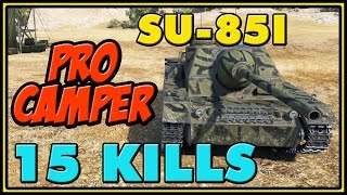 World of Tanks | SU-85I - 15 Kills - 3K Damage