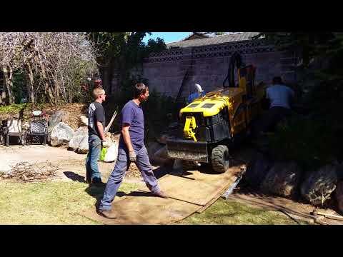 Tough Stump Grinding Job