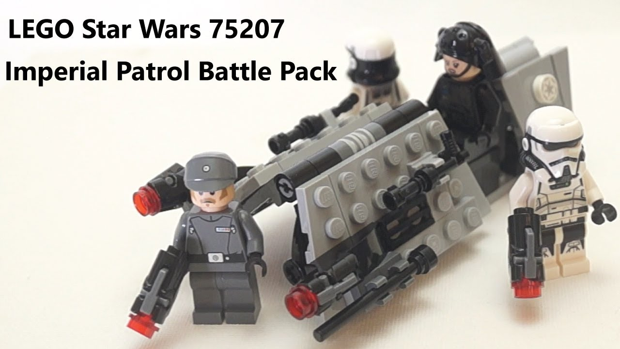 LEGO Star Wars Imperial Emigration Officer Minifigure 75207 Mini Fig