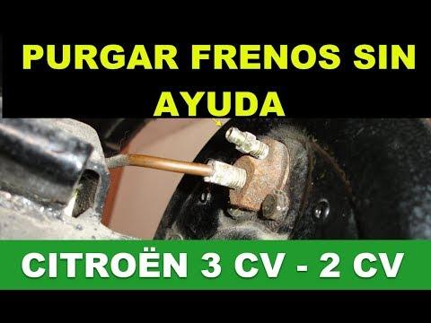 PURGAR FRENOS SIN AYUDANTE - Citroën 3 CV - 2 CV