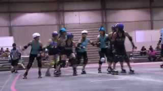 QCRG 2014: Lake Effect Furies @ NEO Roller Derby (7/12/2014)