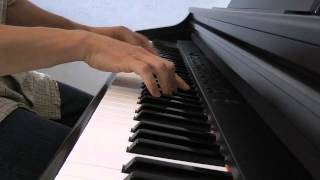 Ennio Morricone - Le Professionnel (le vent, le cri) - piano