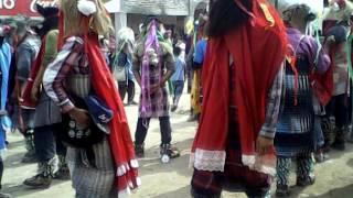 Fariceos en  san Ignacio cohurimpo bailando enfren 2014