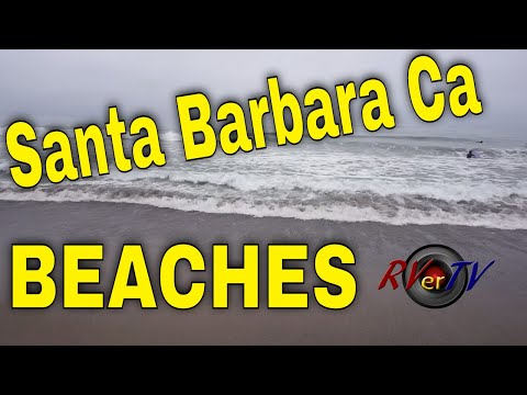 Santa Barbara Ca....Ocean Beaches....Elks Lodge #613 RV Parking...RVerTV