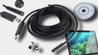 Посылки из Китая - USB Эндоскоп 10м.