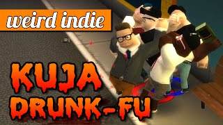 Kuja Drunk-Fu gameplay: Funny drunken brawling game (alpha demo 0.69)