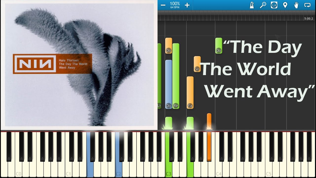 The Day The World Went Away - Nine Inch Nails - Piano Tutorial - YouTube