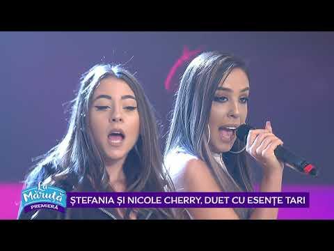 Stefania si Nicole Cherry, duet cu esente tari