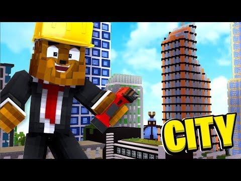 Minecraft Business Tycoon! - Minecraft City Builder Simulator | JeromeASF