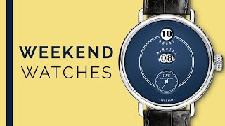 Rolex Cellini & Omega Seamaster Diver 300M; IWC Pallweber, Luxury Watches To Buy