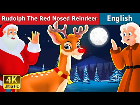 Rudolph | The Red Nosed Reindeer Story | Stories For Teenagers | English Fairy Tales