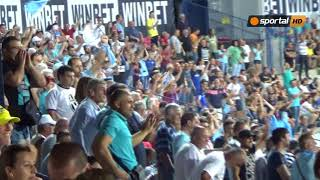 Русенци ликуват след гола на Васев