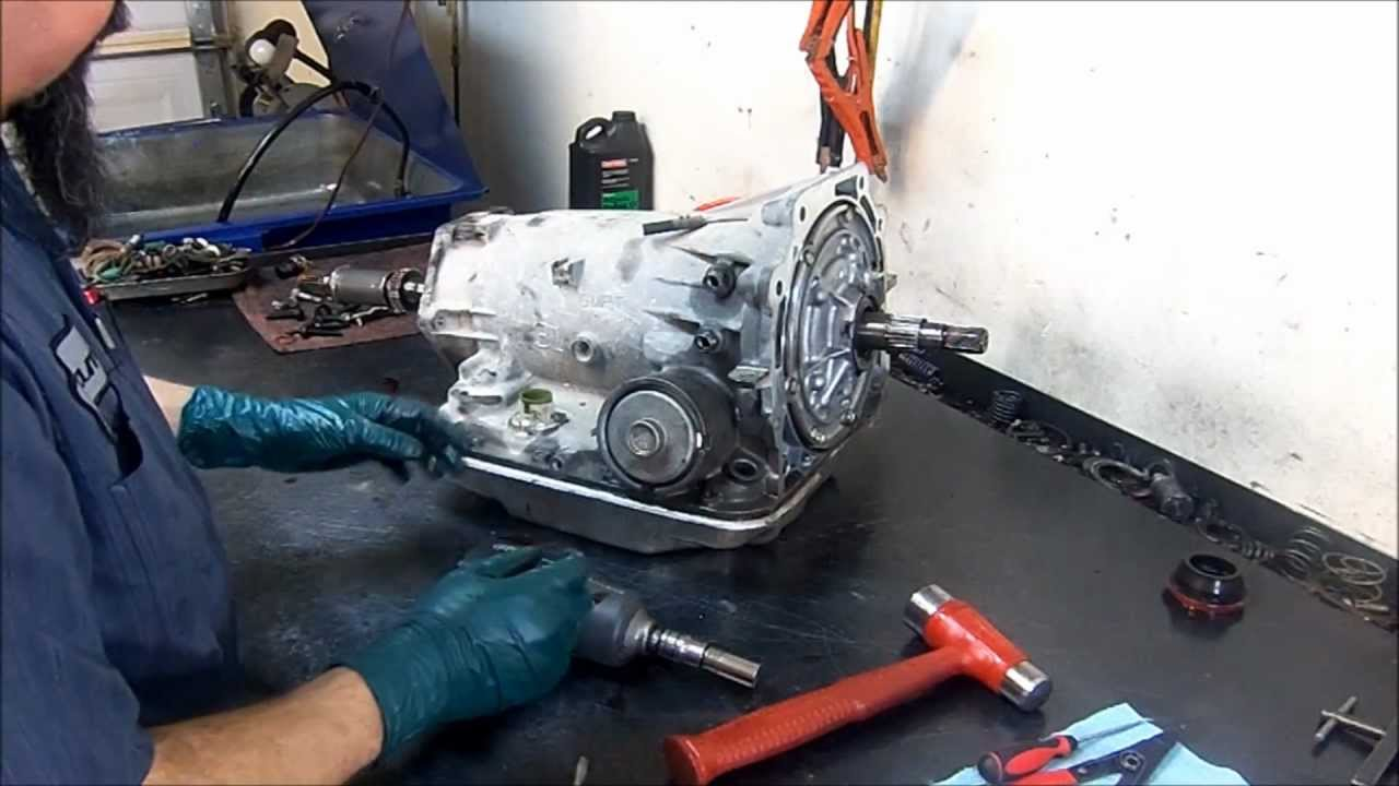 4l60e Transmission Teardown Inspection