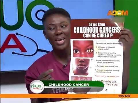 Childhood Cancer - Nkwa Hia on Adom TV (26-2-20)