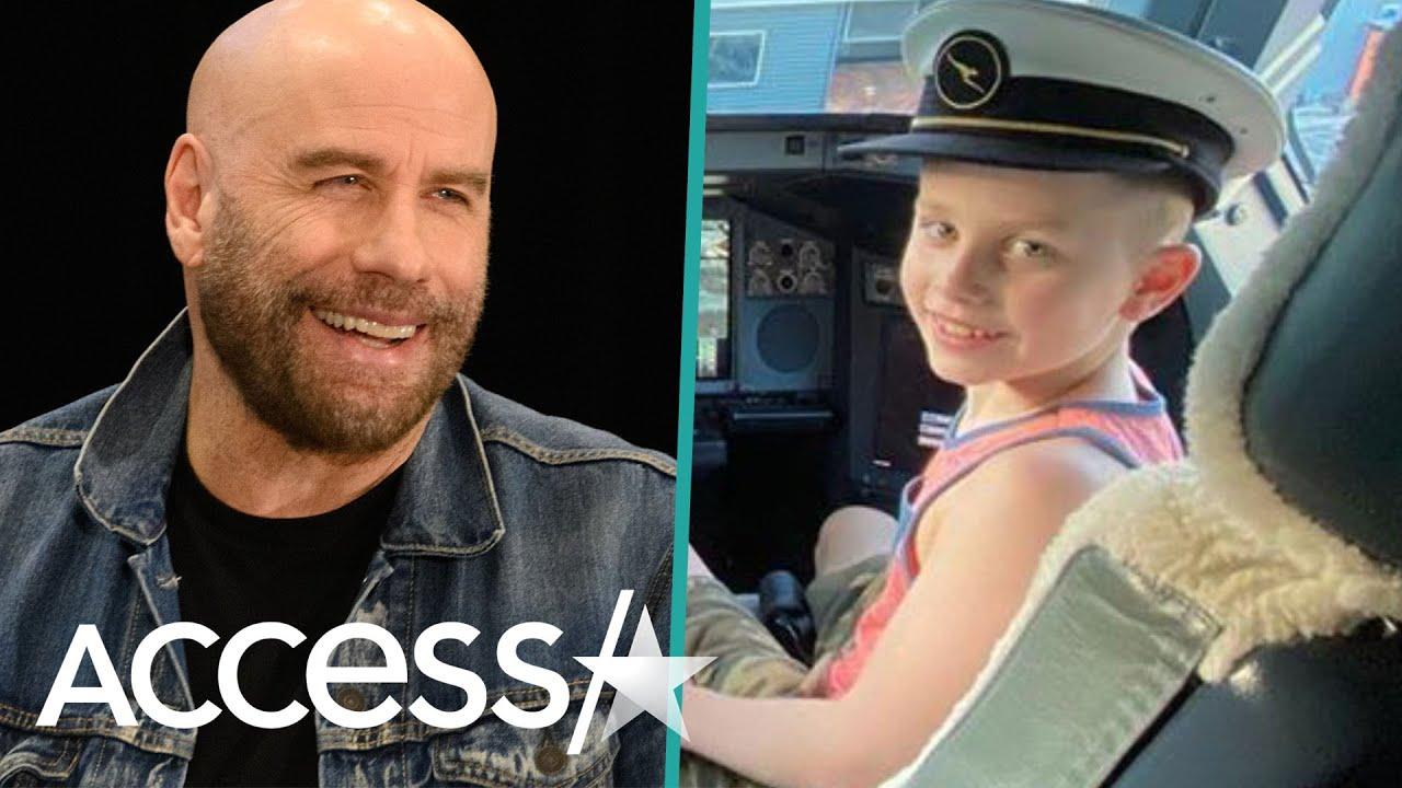 John Travolta Shares Rare Snaps Of Look-Alike 8-Year-Old Son Ben