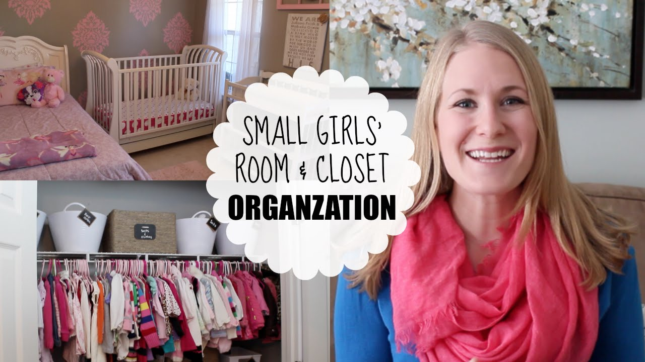 BUDGET ORGANIZING | Small Girlsu0027 Room U0026 Closet   YouTube
