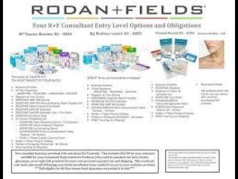 Rodan + Fields Australian Business Kit 2017
