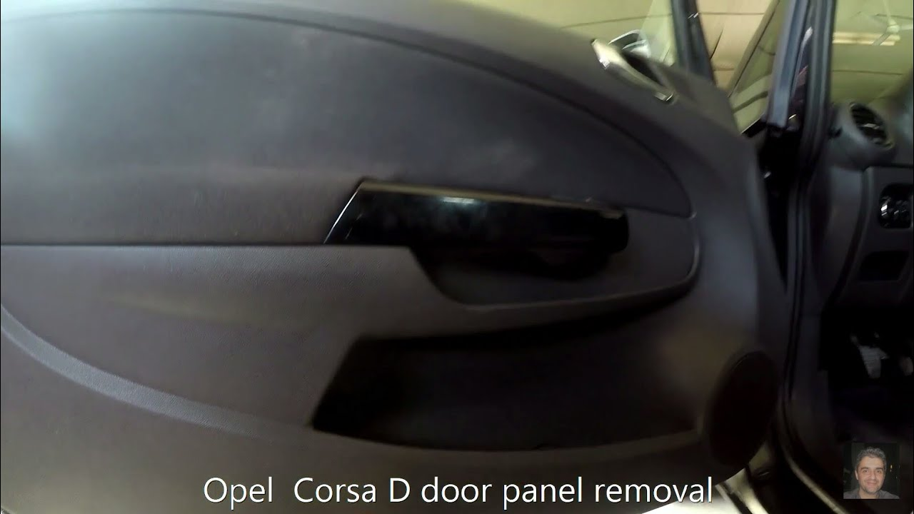 Opel Astra G Wiring Diagram Download Corsa D 20062014 Door Panel Removal Youtube