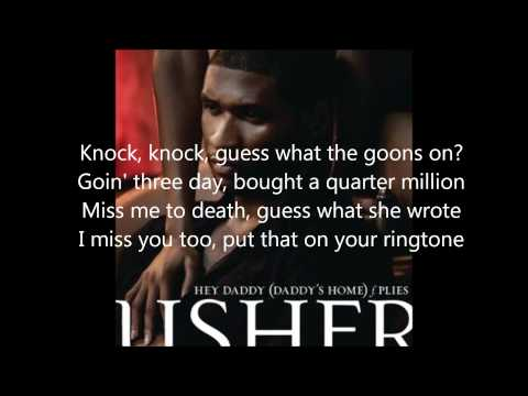 Hey Daddy  Usher Feat Plies Lyrics