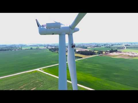 How Do We Service Wind Turbines