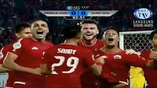 GOL!!!!!! ADDISON ALVES|PERSIJA VS SONG LAM NGHE AN|BABAK II|AFC CUP 2018