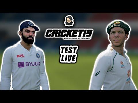 [04] Test Live • India 🇮🇳 vs Australia 🇦🇺 • Cricket 19 Live ❤️ • Anmol Juneja thumbnail
