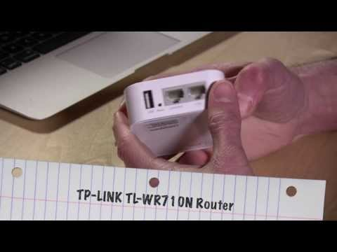 TP-LINK TL-WR710N Portable Handheld Router Network Access Point / Client Review