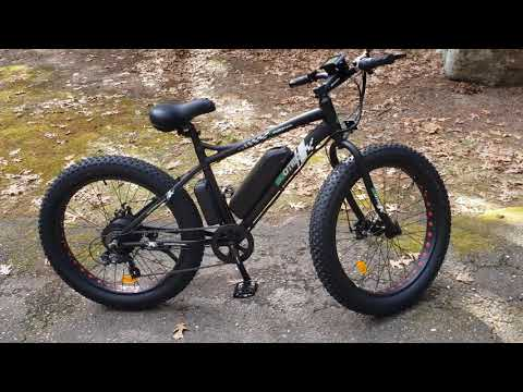 Ecotric 26 in fat tire ebike Electric 4 mile review 900s