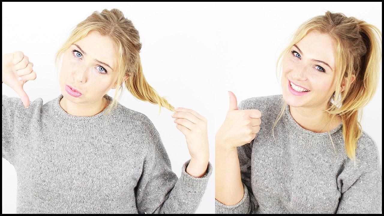 Jak Zrobić Długi I Gęsty Kucyk Z Włosów Prosty Trik Youtube